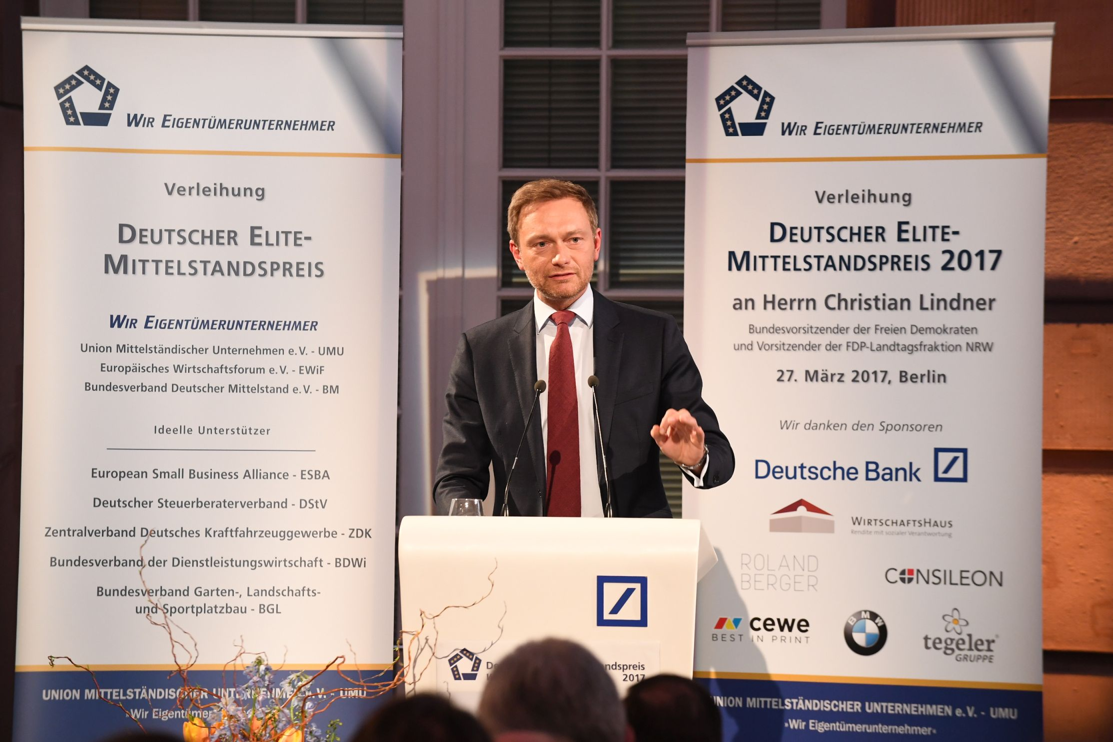 Preisträger Christian Lindner