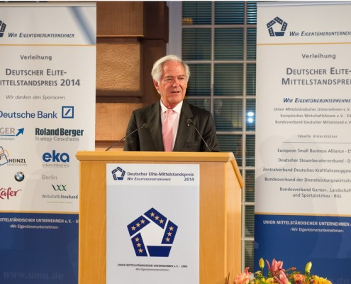 Laudator Prof. Dr. h.c. Roland Berger, Honorary Chairman Roland Berger Strategy Consultants