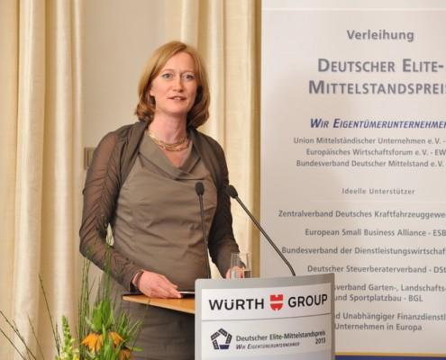 Preisträgerin Kerstin Andreae MdB