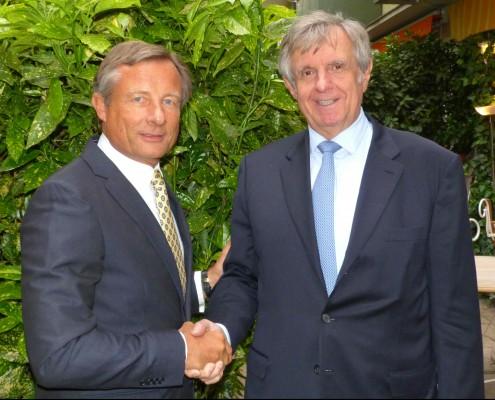 Dr. Yorck Otto (li.) und Hermann Sturm